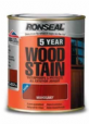 RONSEAL WOODSTAIN 5 YEAR DARK OAK 750ml 717560